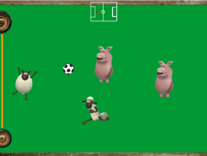 Screenshot of Shaun the Sheep Football