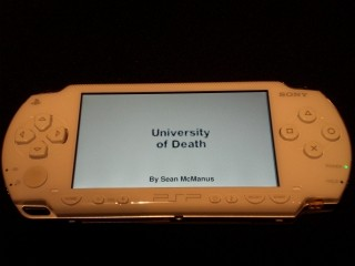 University of Death on a PSP
