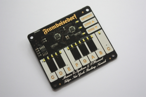 The Piano Hat for the Raspberry Pi