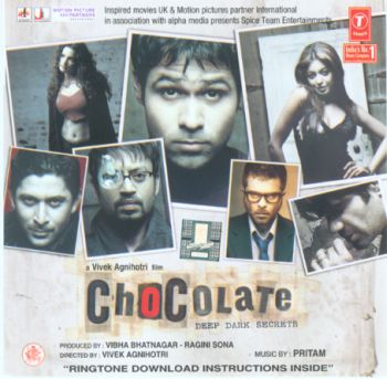 Chocolate: very serious-looking soundtrack album