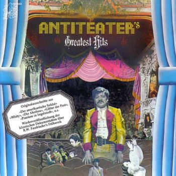 Picture of 1970s style German cardboard cutout record sleeve for band Anteater