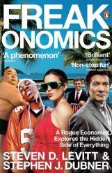 Book cover: Freakonomics