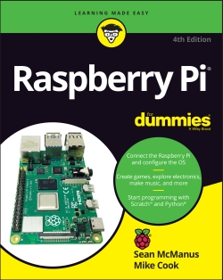 Book cover: Raspberry Pi For Dummies