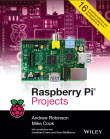 Book cover: Raspberry Pi Projects