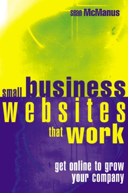 Book cover: Small Business Websites That Work